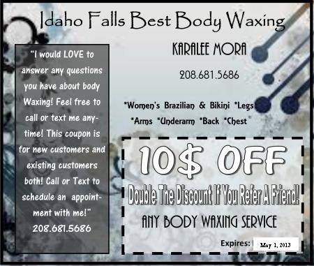 Save $10 today with this awesome body waxing coupon by Kara!